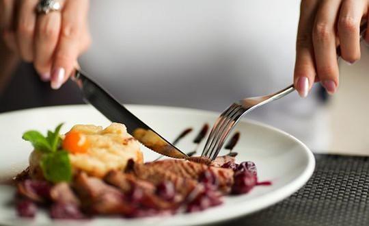 kniv og gaffel